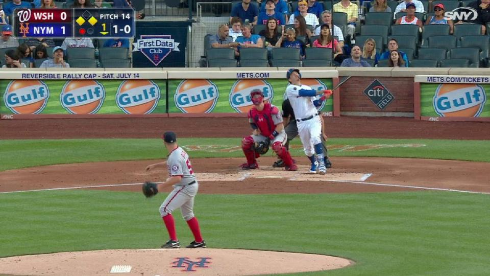 Flores' sac fly to left
