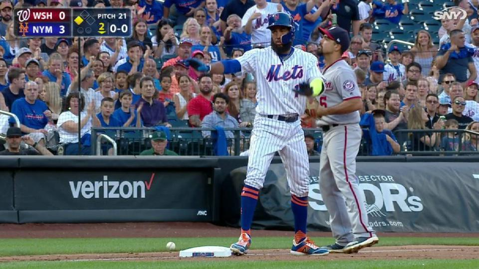 Rosario's triple off the wall
