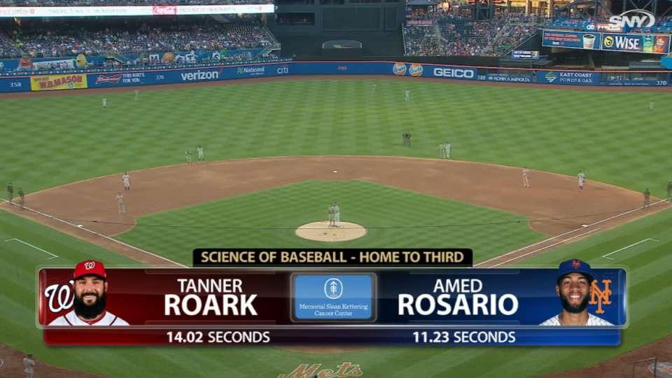 Rosario's triple vs. Roark's