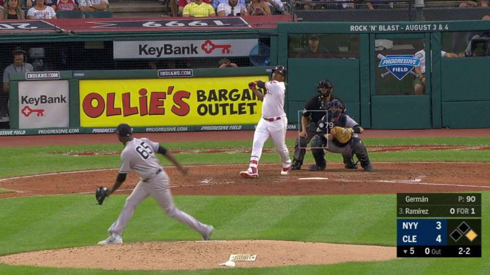 Ramirez's RBI triple