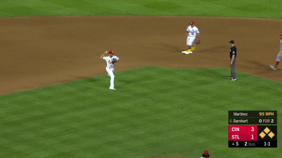 Martinez leaves the bases full