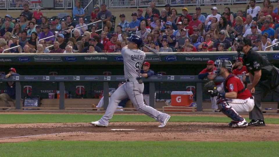 Bauers' 3-run homer