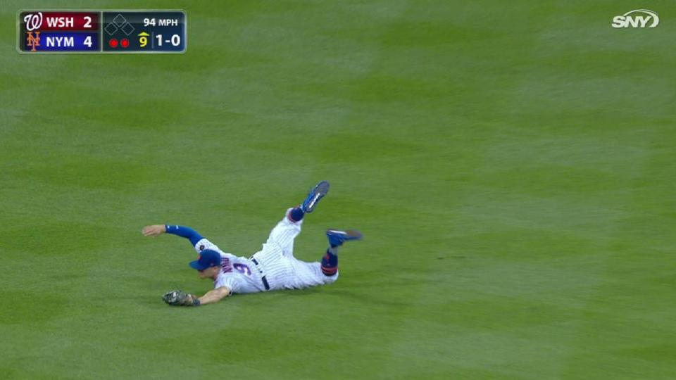 Nimmo's diving catch ends game
