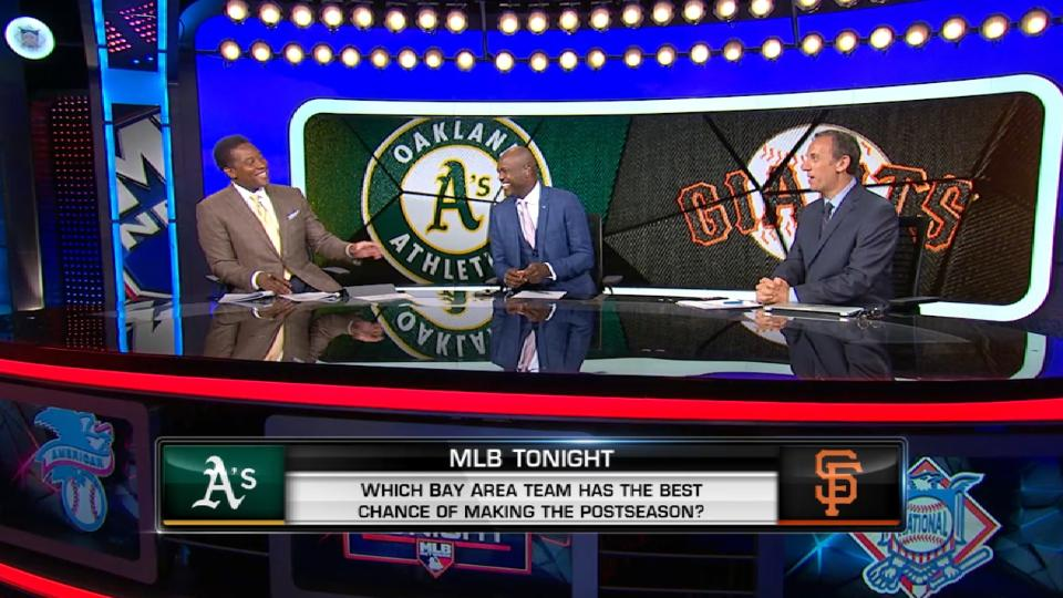 MLB Tonight: A's and Giants