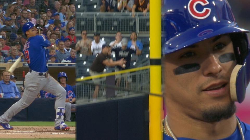 Baez's double to deep right