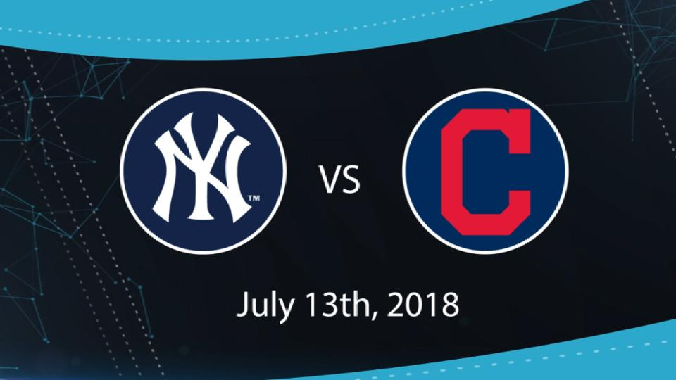 7/13/18: NYY vs. CLE Highlights