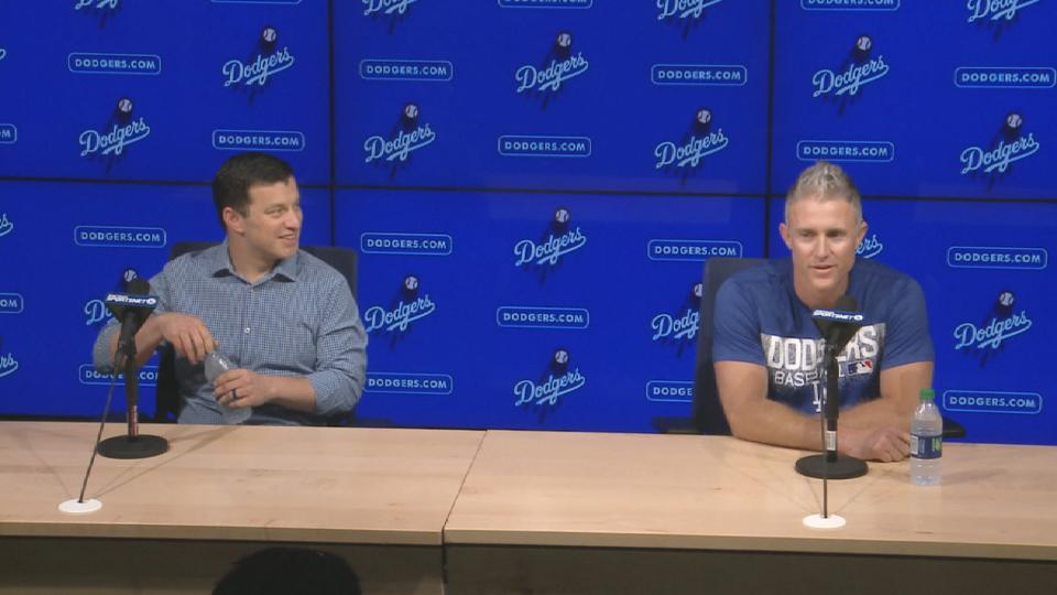 Utley jokes at press conference