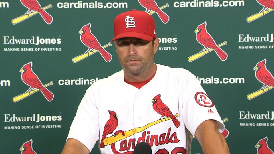 Matheny on Martinez in the loss