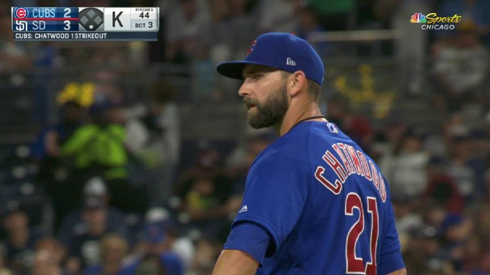 Chatwood strikes out Hosmer