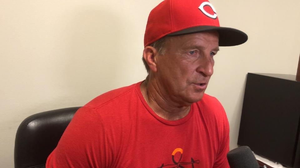 Riggleman on Harvey in 9-1 win