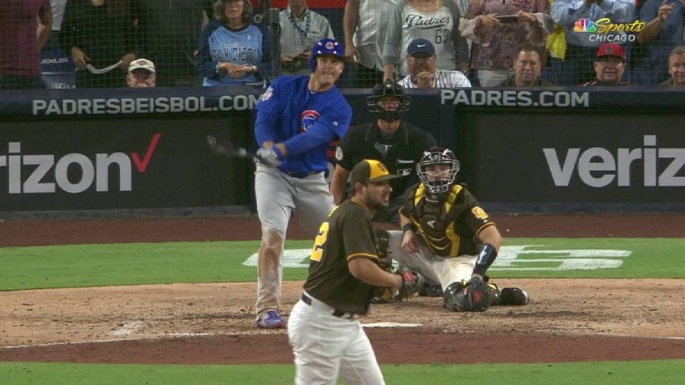 Rizzo's game-tying RBI double