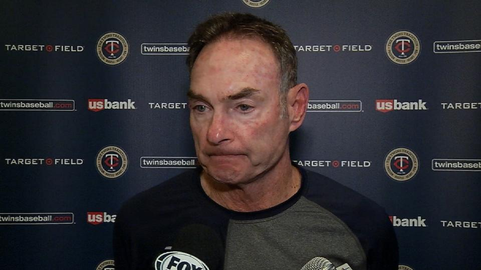 Molitor on 11-8 victory