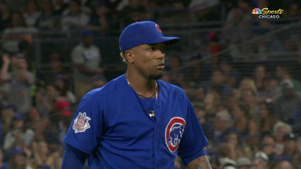 Strop strikes out the side