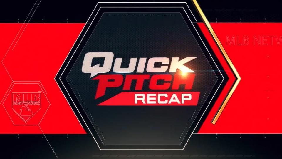 Quick Pitch Recap: 7/13/18