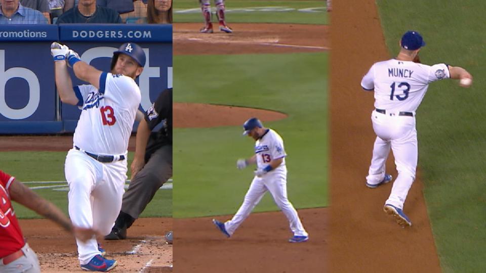 Must C: Muncy carries Dodgers