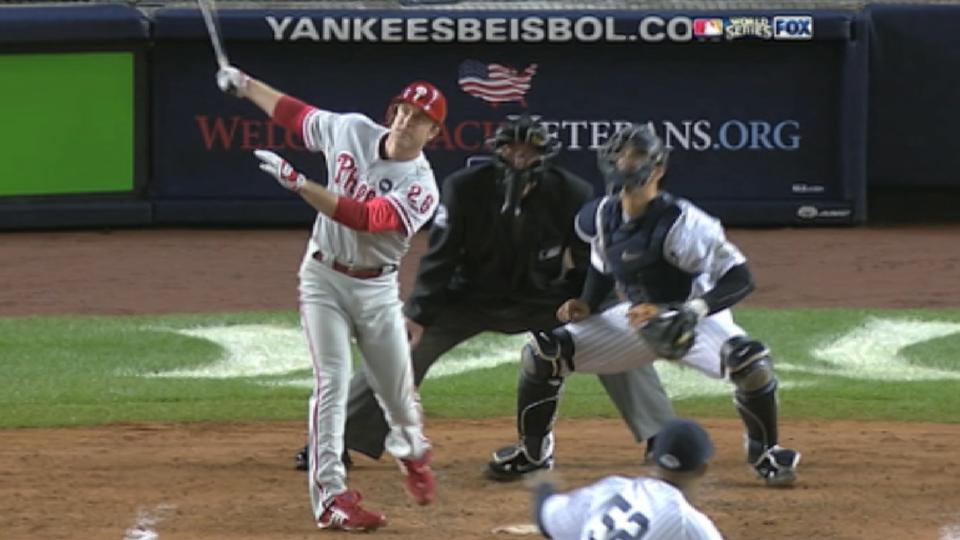 Utley's World Series home runs
