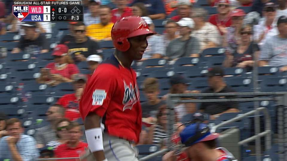 Matias' solo home run