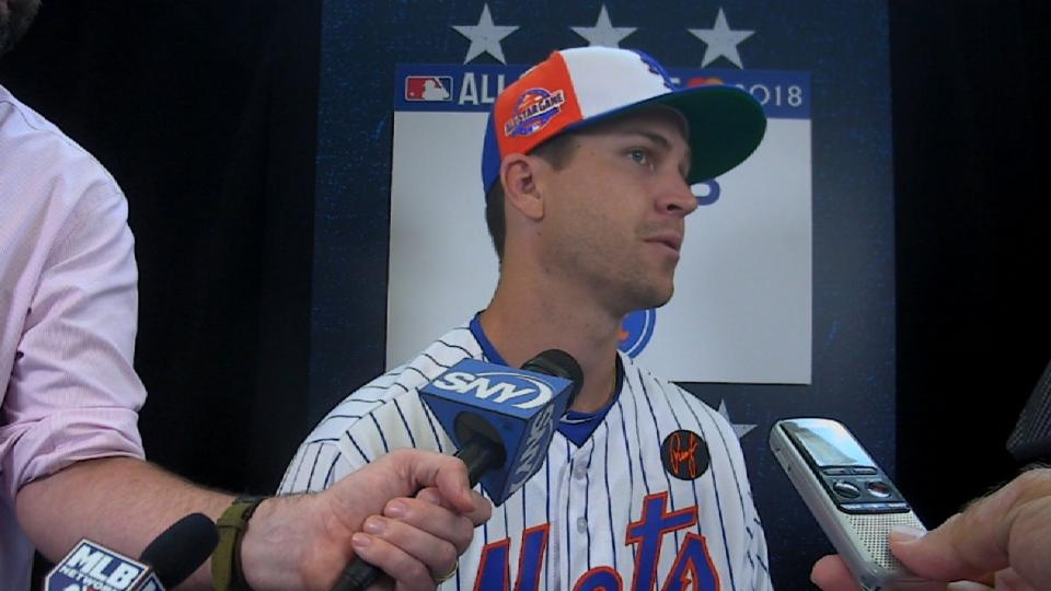 deGrom on future with Mets