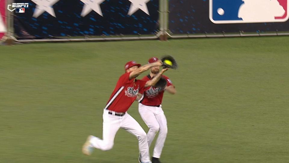 Kelley's nice catch in CSG
