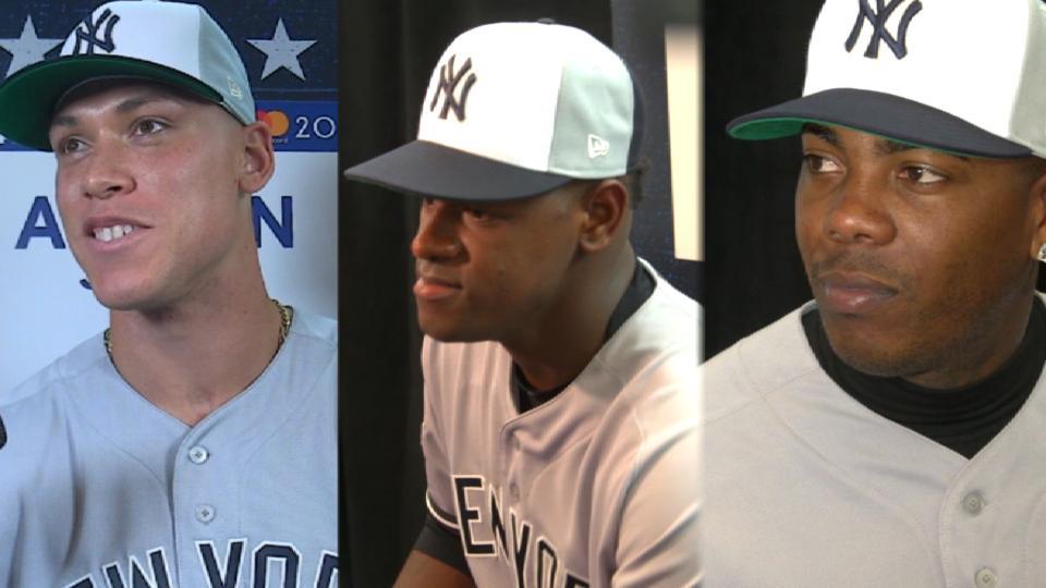 Yankees All-Stars on second half