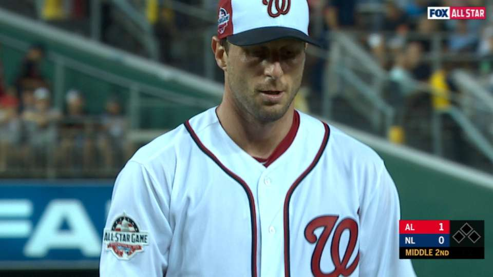 Scherzer K's 4 at the 2018 ASG
