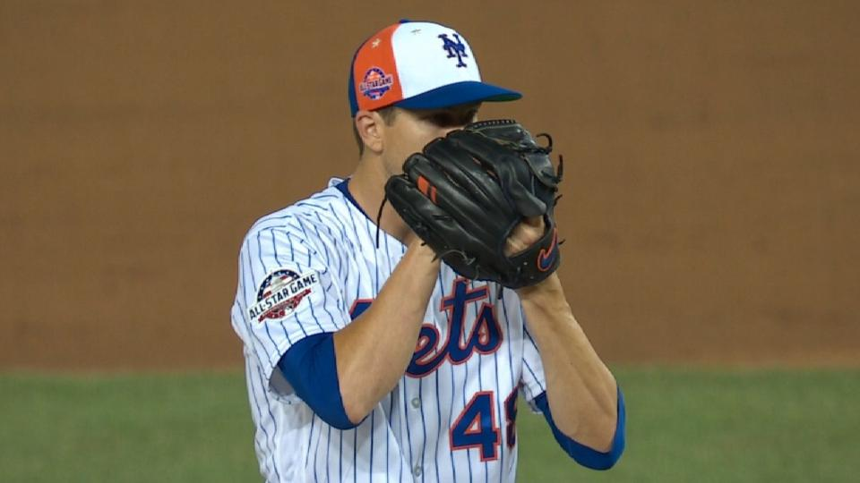 deGrom leads Mets' rotation