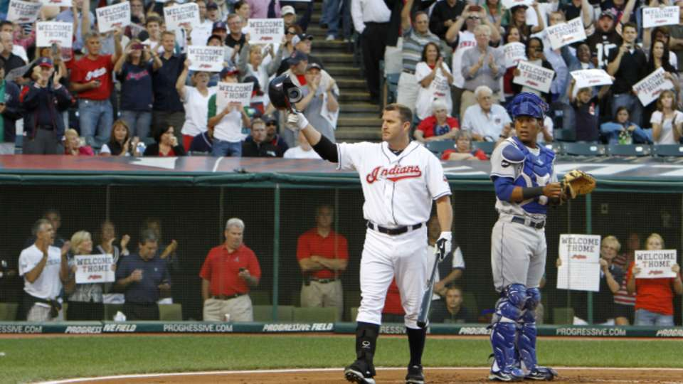 Thome on going into the HOF