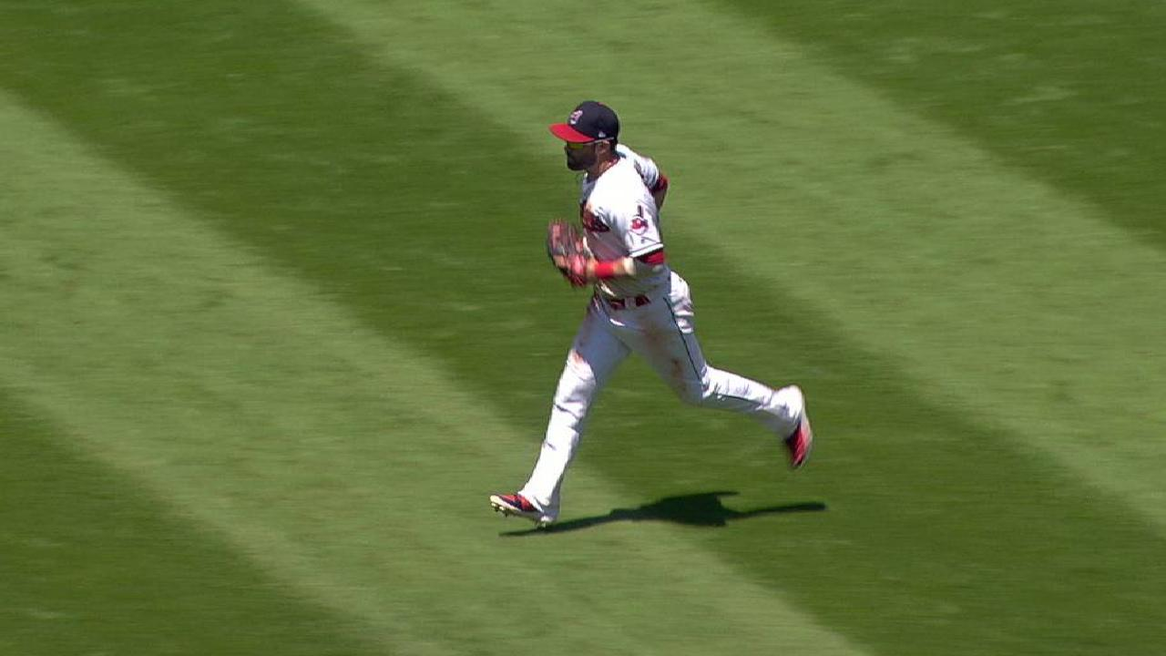 Kipnis\u0027 spinning play & Jason Kipnis relieved to stay at second base | MLB.com