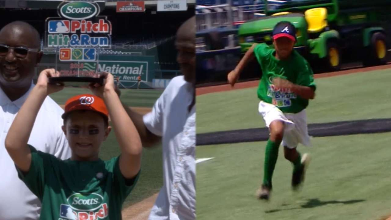 efa8c268e Pitch Hit & Run 9 and 10-year old champions
