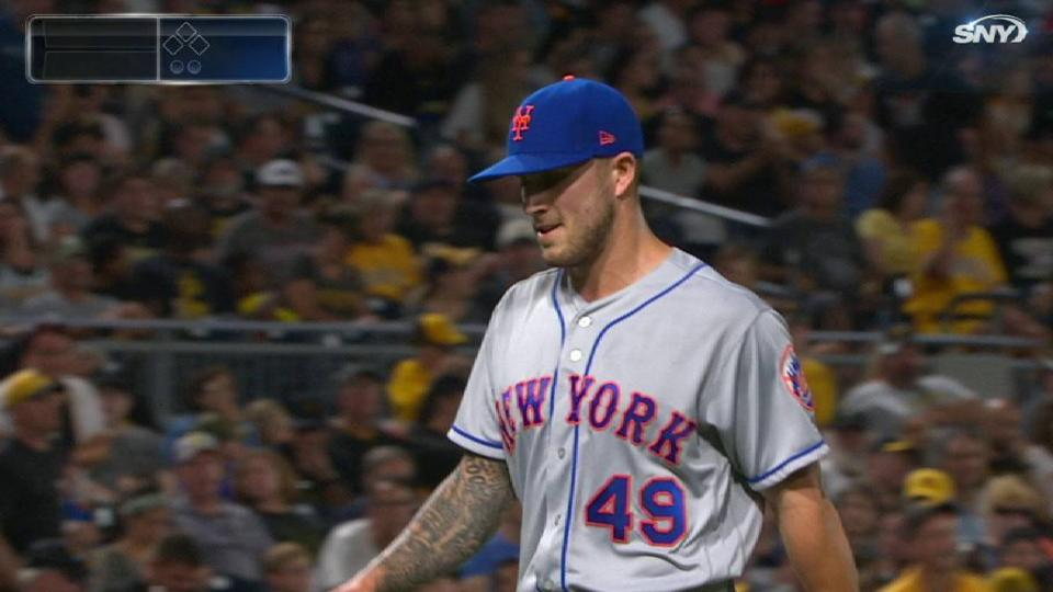 Mets turn 2 to end the 6th