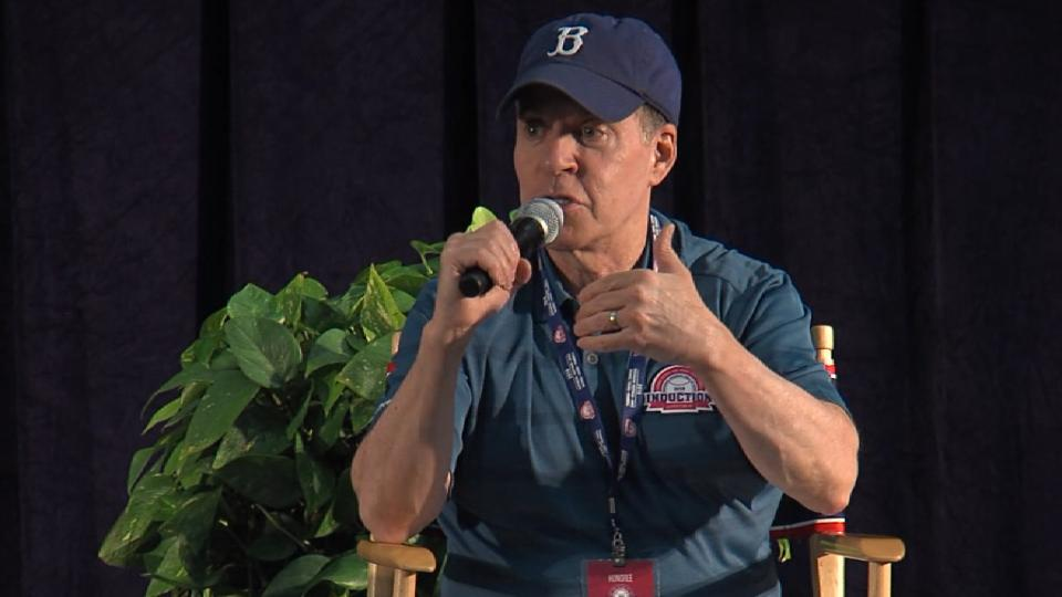 Costas' first Cooperstown memory