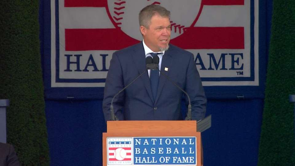 Chipper's Hall of Fame speech