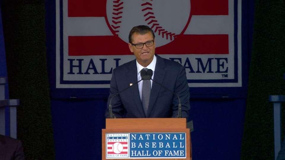 Hoffman's Hall of Fame speech
