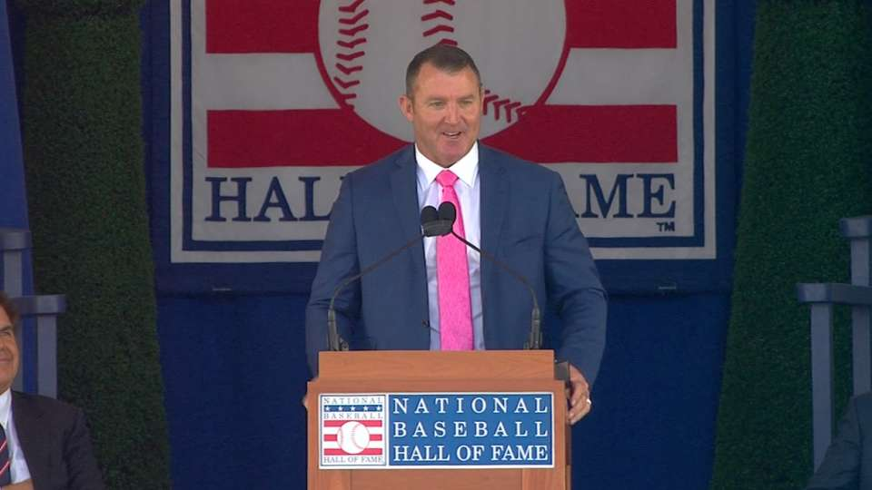 Thome's Hall of Fame speech