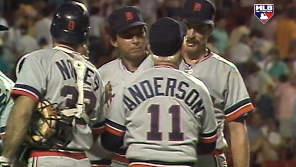 Morris thanks Sparky Anderson