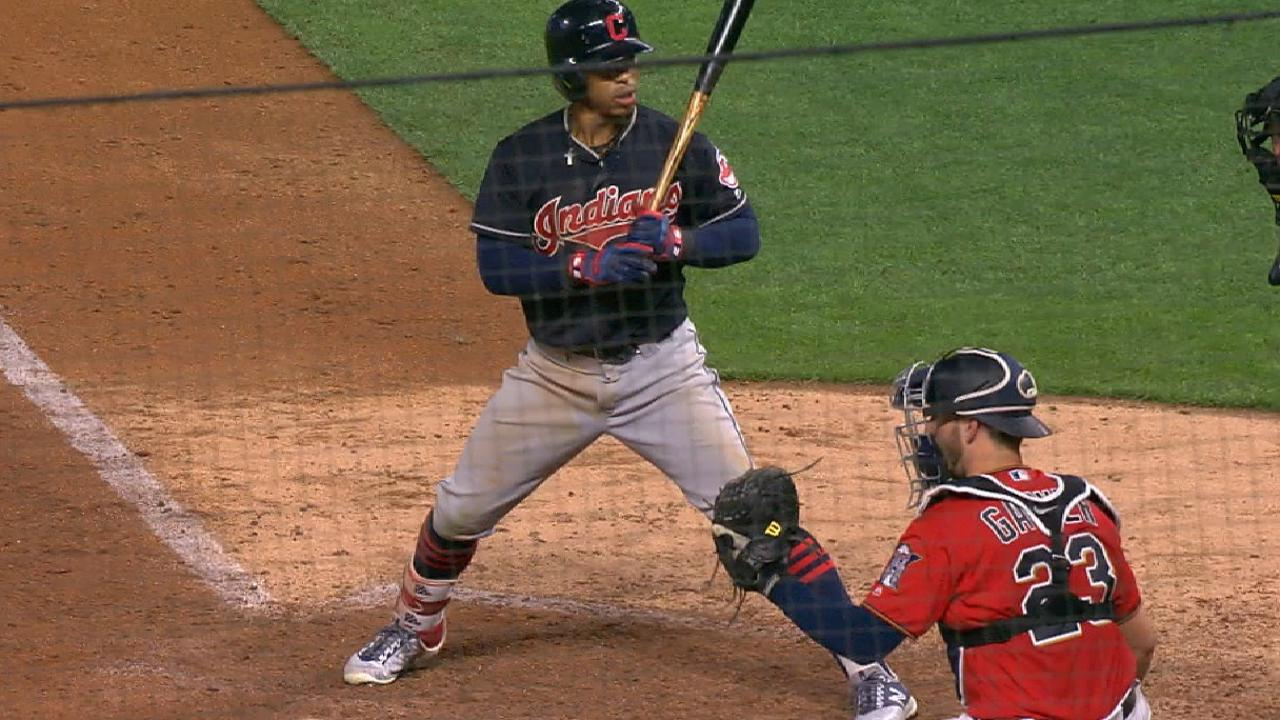 d41ee4971def Fernando Rodney's cleat got stuck, and the resulting wild pitch totally  caught Francisco Lindor by surprise