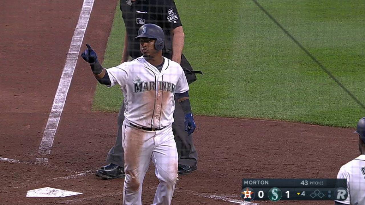 Segura's solo home run