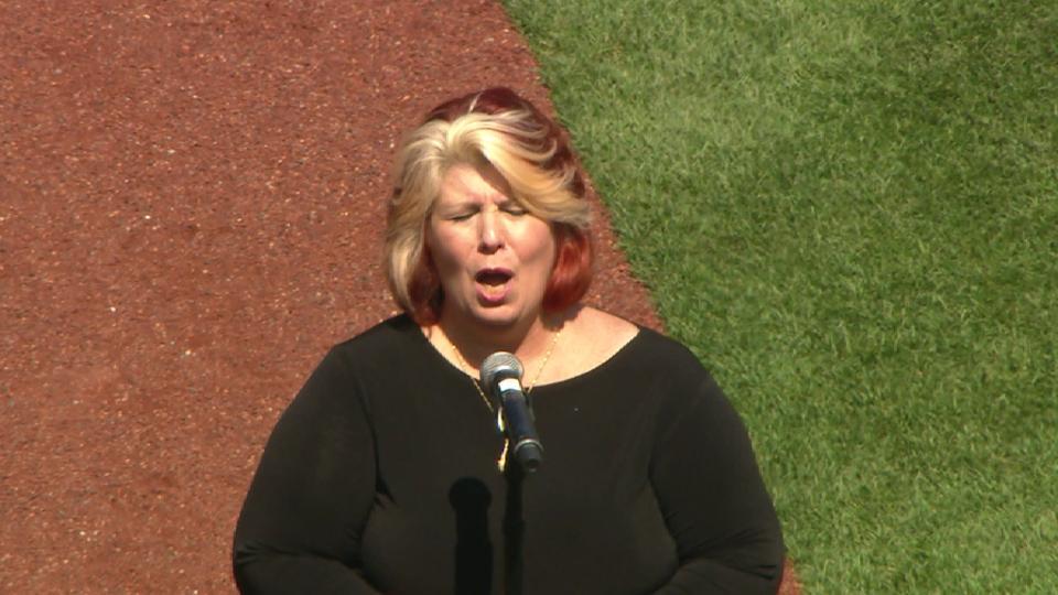 Cornetti performs at PNC Park