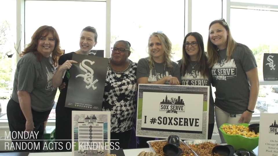 Sox Serve Week 2017