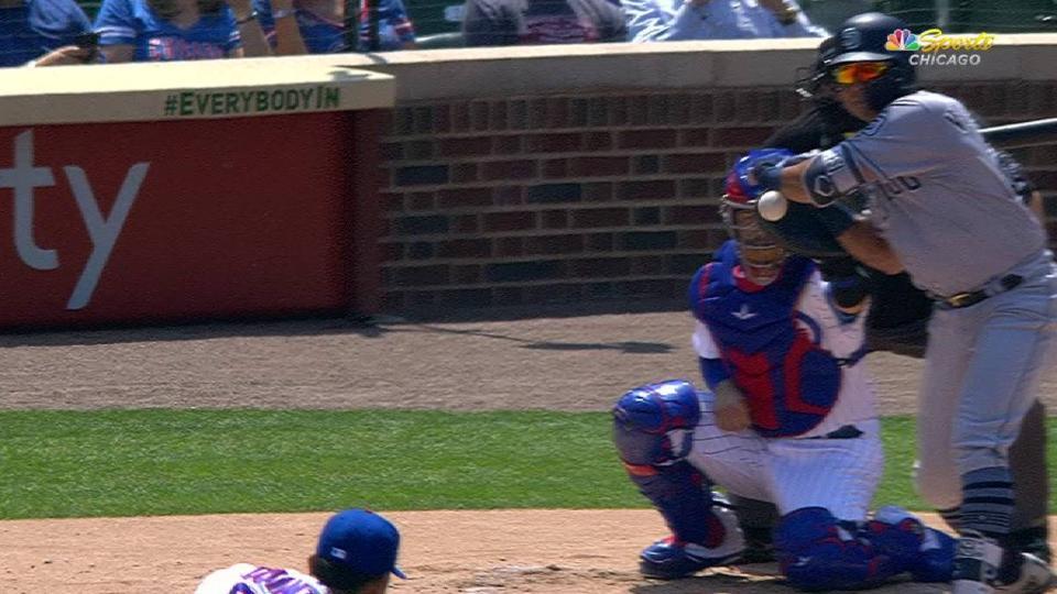 Quintana's pitch avoids batter