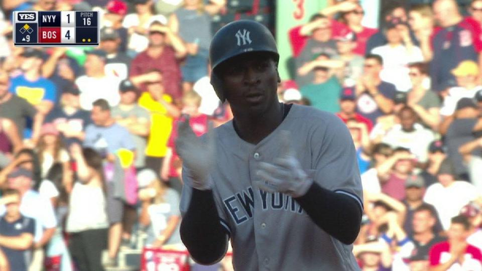 Didi's RBI double to right