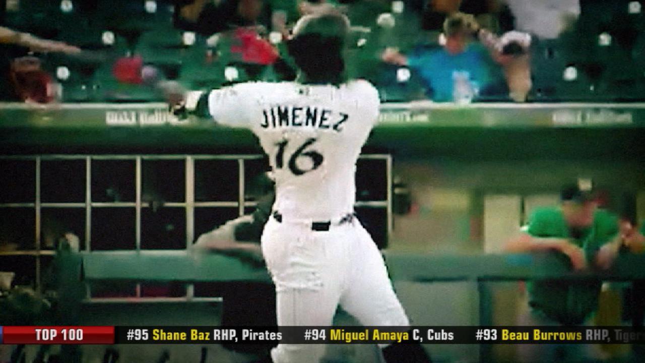 Jimenez is ranked No. 3 prospect
