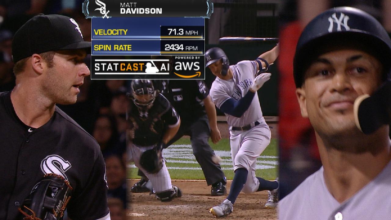 Image result for matt davidson strikes out giancarlo stanton