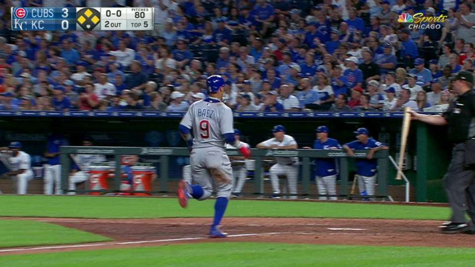 Bote's run-scoring single