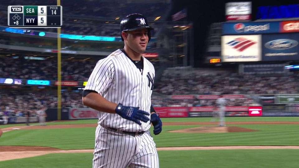 Sanchez's game-tying 2-run HR