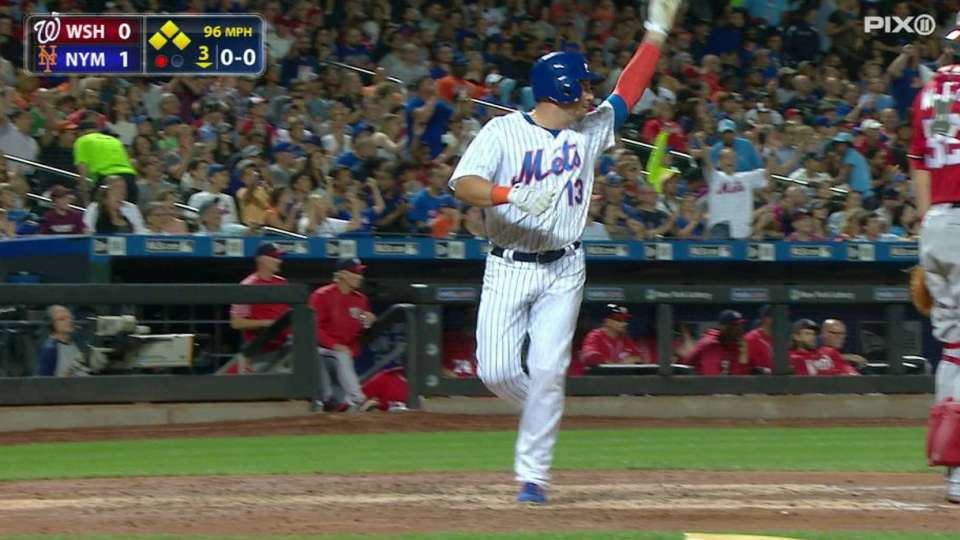 Plawecki's two-run single