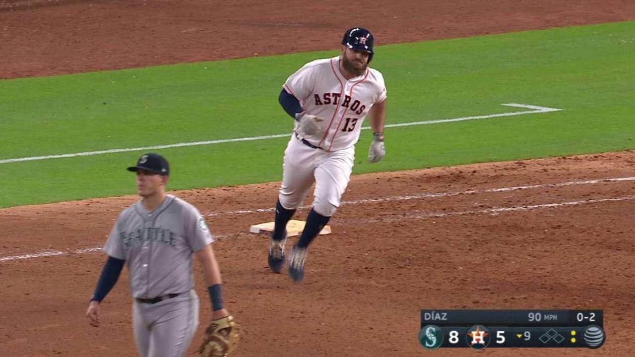 Verlander fue castigado y los Astros no lograron superar a Marineros ... 89916ff0146