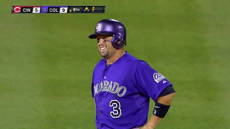 Cuddyer gets the cycle