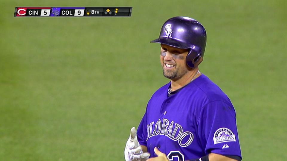 Cuddyer hits for cycle