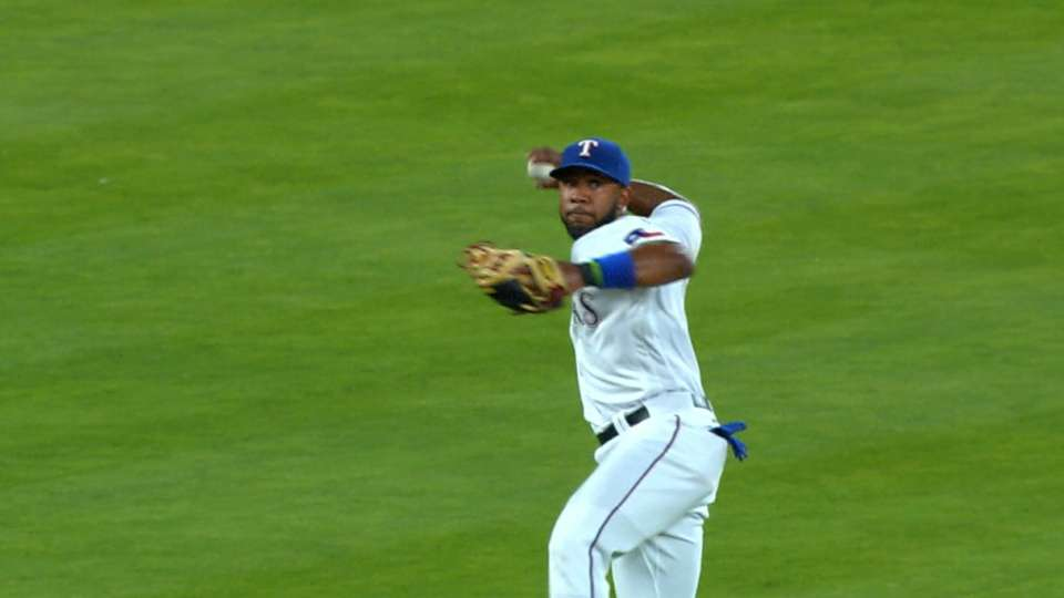 Andrus' spinning throw